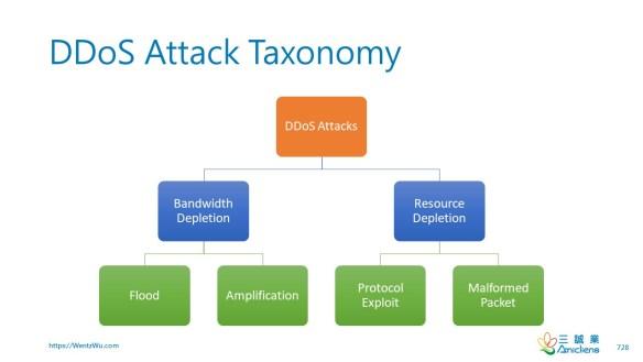 DDoS Attack Taxonomy