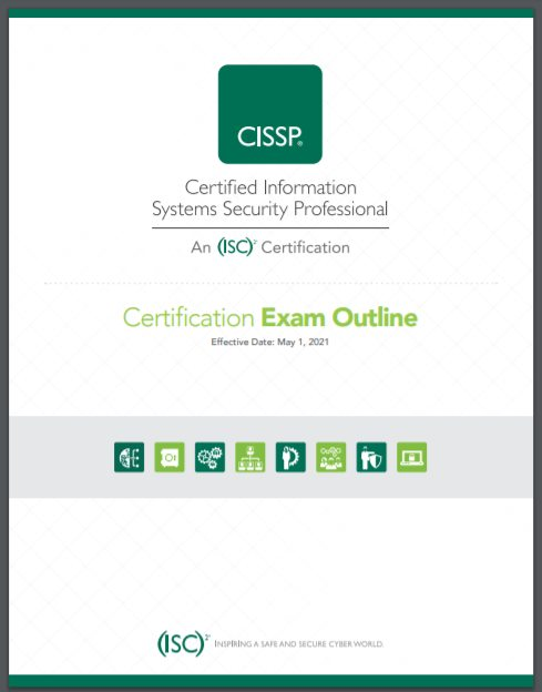 CISSP Domain Refesh 2021