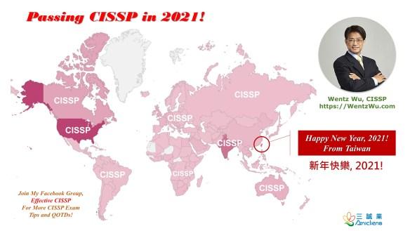 Passing CISSP in 2021!