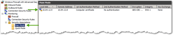 IPsec on Windows
