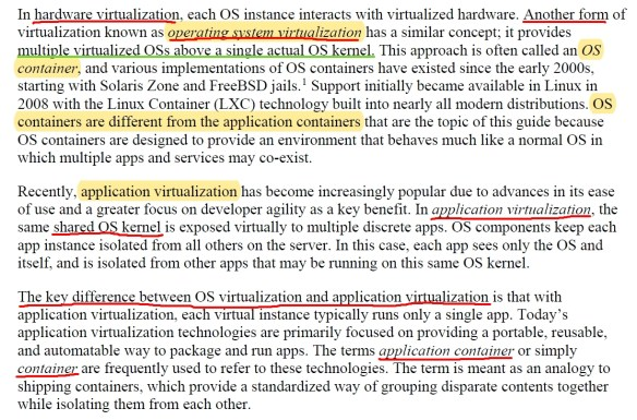 OS and Application Virtualization