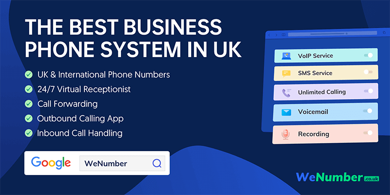 Business phone system: WeNumber