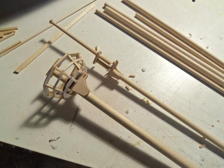 Billing S Half Moon – A 1 40 Scale Kit – Part 35 Wenzelswharf | Half Moon Wood Steps | Wooden | Hexagon | Diy | Outside Corner Deck | Exterior