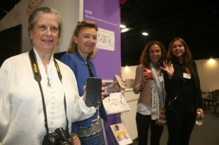 WeO's Eleonora Muntañola Thornberg, Dr Véronique Thouvenot, Fiona Marlow