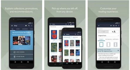 Nook eBook Reader app for Android