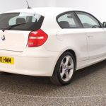 Used 2010 White Bmw 1 Series Hatchback 2 0 116i Sport 3dr 121 Bhp For Sale In Stockport Used Car Supermarket