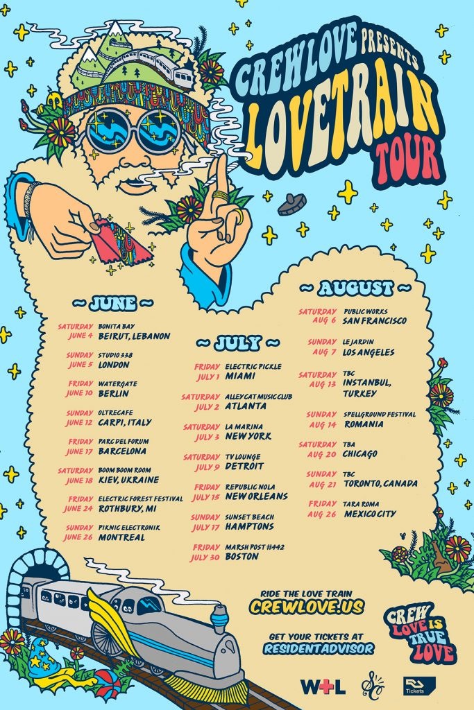 We Own The Nite NYC__Crew Love_Love Train Tour 2016
