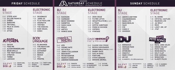 We Own The Nite NYC_Spring Awakening Music Festival 2016_Set Times