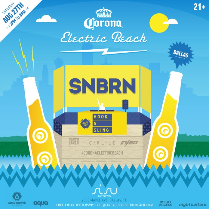 We Own The Nite NYC_Corona_Electric Beach_2016_Dallas