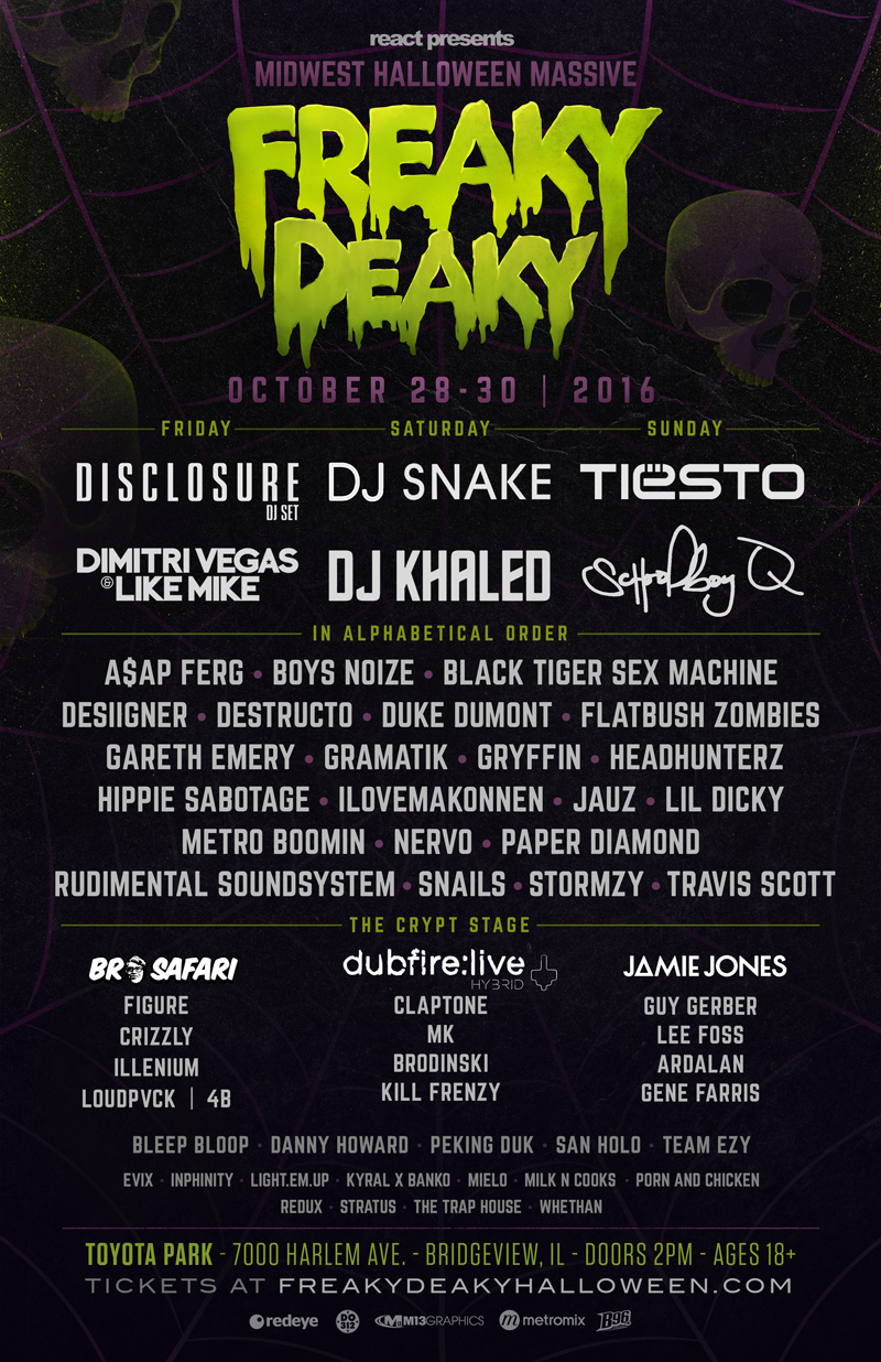 We Own The Nite NYC_Freaky Deaky 2016_lineup