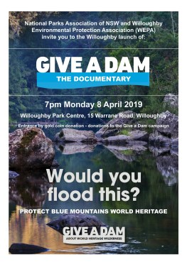 give-a-dam-poster-with-blue-mountains