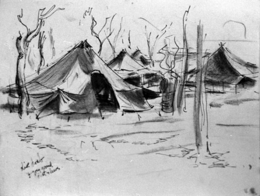 AWW 1943-12-25 P11 US Air Force camp (Study) BW neg 18 - Copy