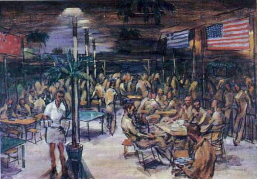 U.S. Hospitality Tent