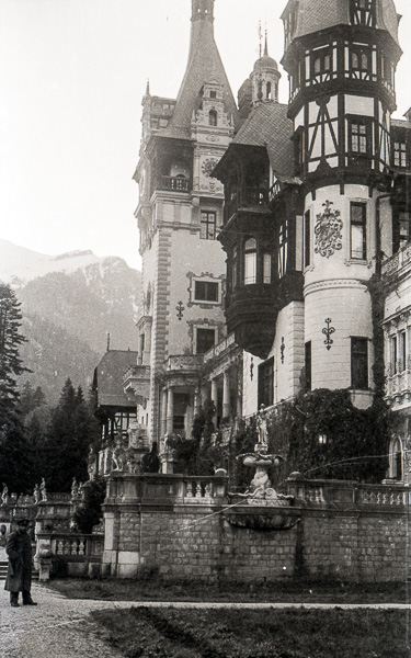 Peles Castle, Sinaia, Romania; 12 October 1956