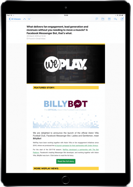 WePlay Newsletter