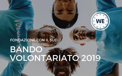 Bando Volontariato 2019