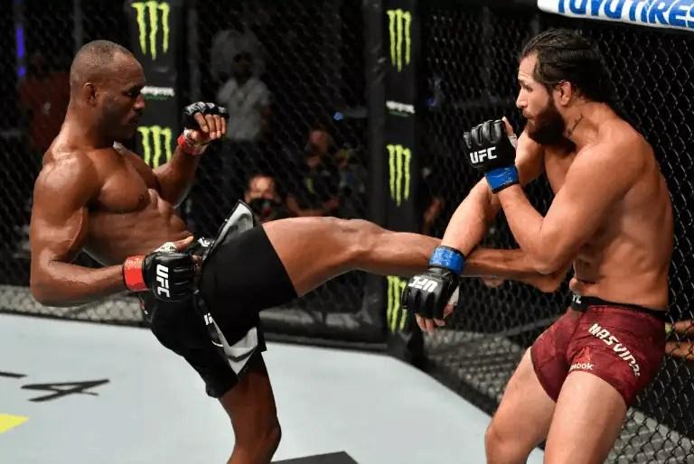 Who won the Masvidal-Usman fight at UFC 251?