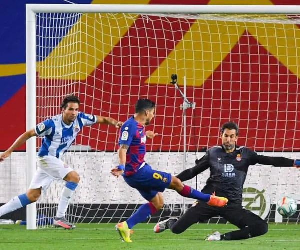 [VIDEO] The goals of Barcelona – Espanyol. Who won?