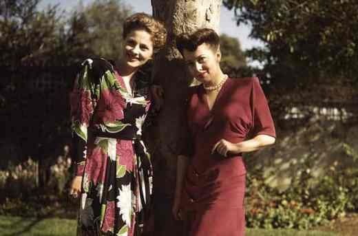 Joan Fontaine and Olivia de Havilland. (Cordon Press)