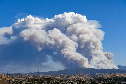 Brush Fire Breaks Out In Lake Hughes