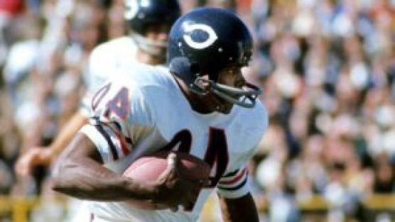 At 34 years of age, Gale Sayers became the youngest member of the Hall of Fame. Getty Images