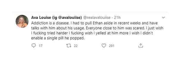 Ethan Peters died