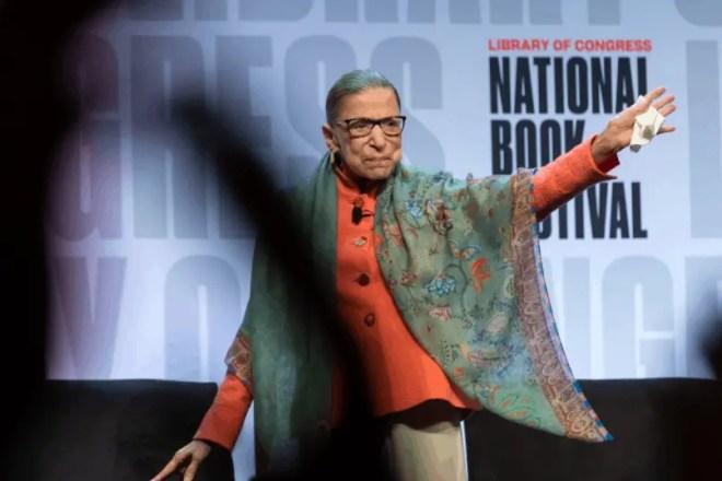 Ruth Bader Ginsburg dies