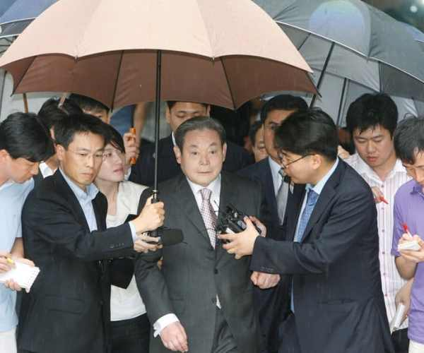 Lee Kun-hee died at the age of 78, the richest man in South Korea