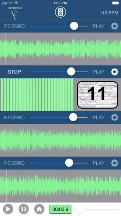 Multi-Track Song Recorder app