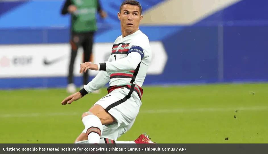 Soccer Player Cristiano Ronaldo tests positive for coronavirus