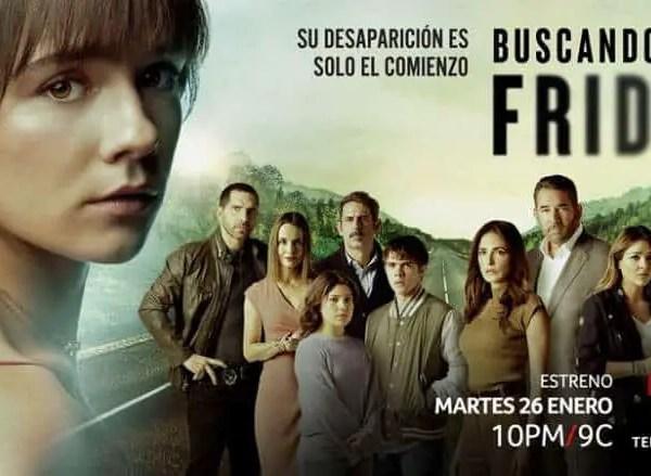 """Buscando a Frida"" Premiere On Telemundo."