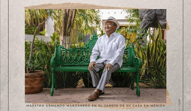 Armando Manzanero's Ashes Rest In One Of The Most Sacred Places