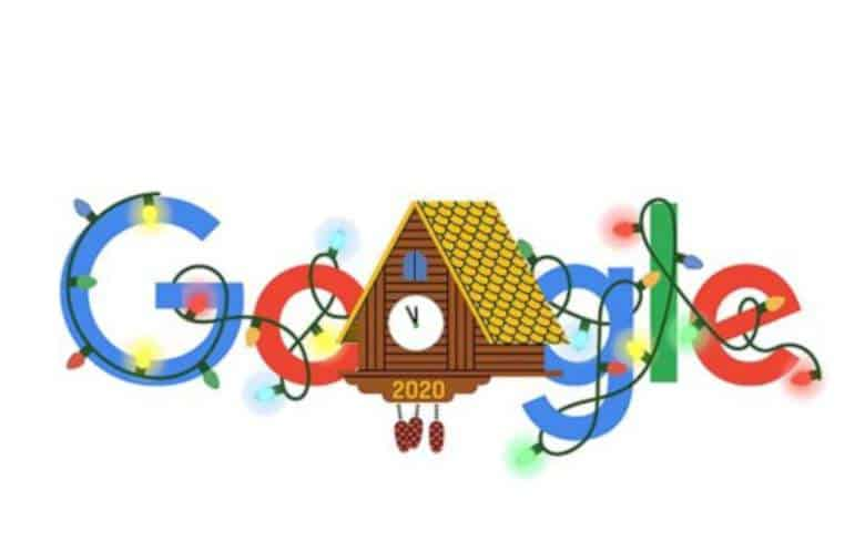 Google Celebrates The New Year 2020 With A Google Doodle
