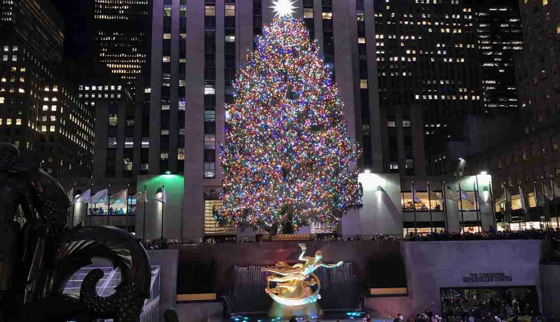 Rockefeller Christmas Tree Lighting 2020: Time and Channel
