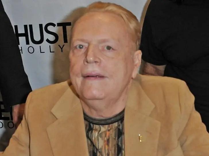 'Hustler' Founder Larry Flynt Dies At 78
