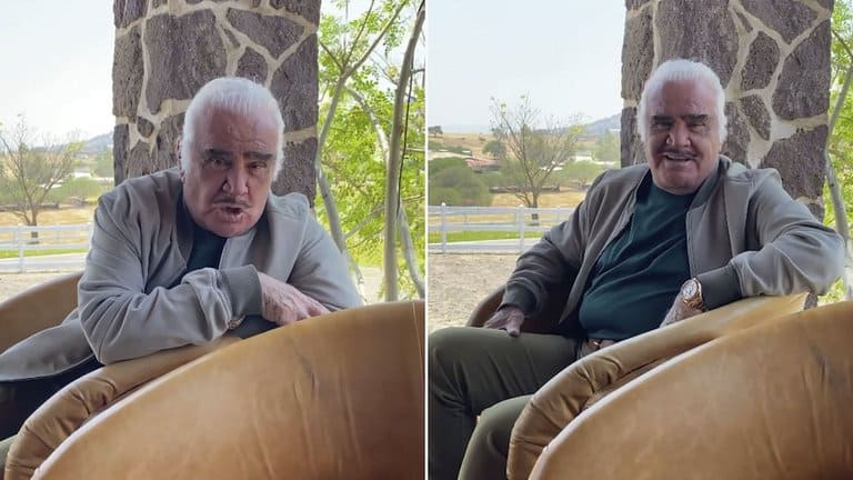 Vicente Fernández Reappeared After The Sexual Harassment Scandal To Celebrate His Birthday.
