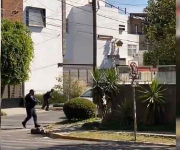 [VIDEO] Shooting In Zapopan Between Police And Armed Civilians