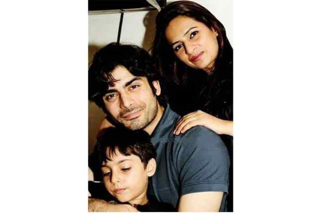 Fawad Khan and his family