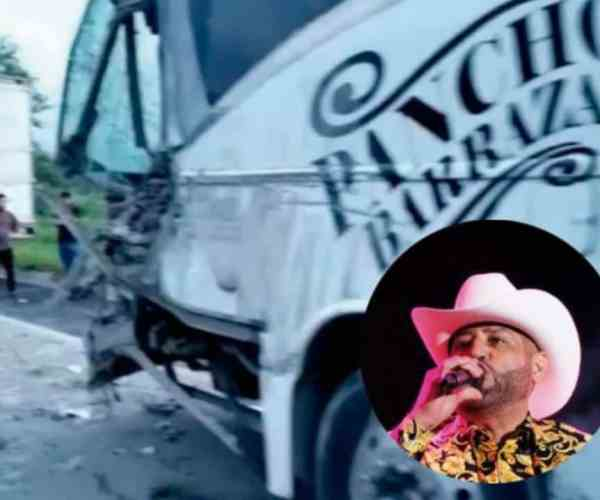 Pancho Barraza's Musicians And Staff Suffer An Accident