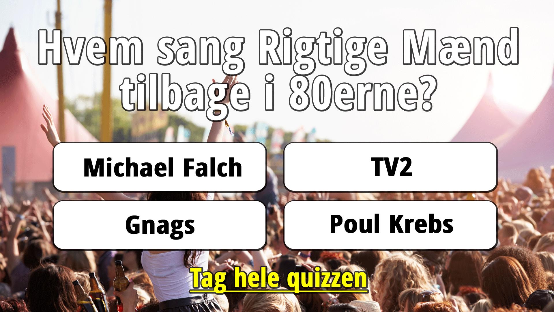 Dansk Musik Fra 80 Erne Quiz