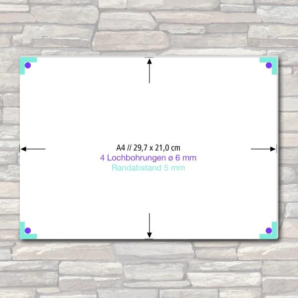 Acrylglas-Schild