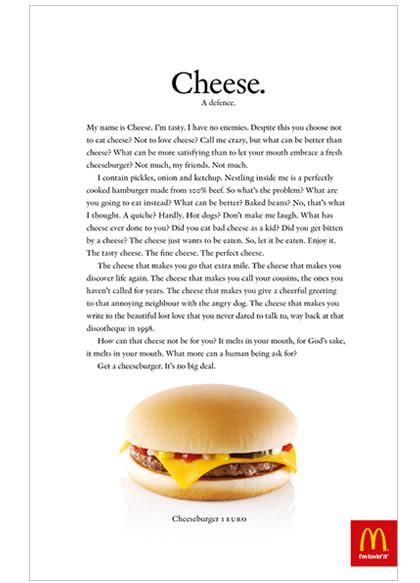 Image - Mc Donnalds - Long copy ad
