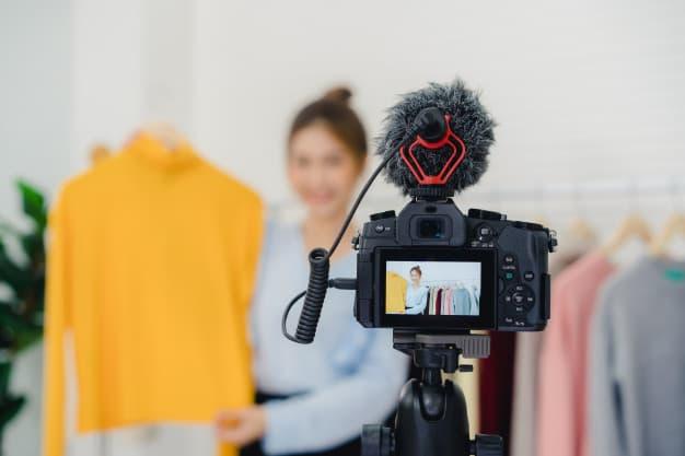 Produkt Geschäft Videos und Fotos