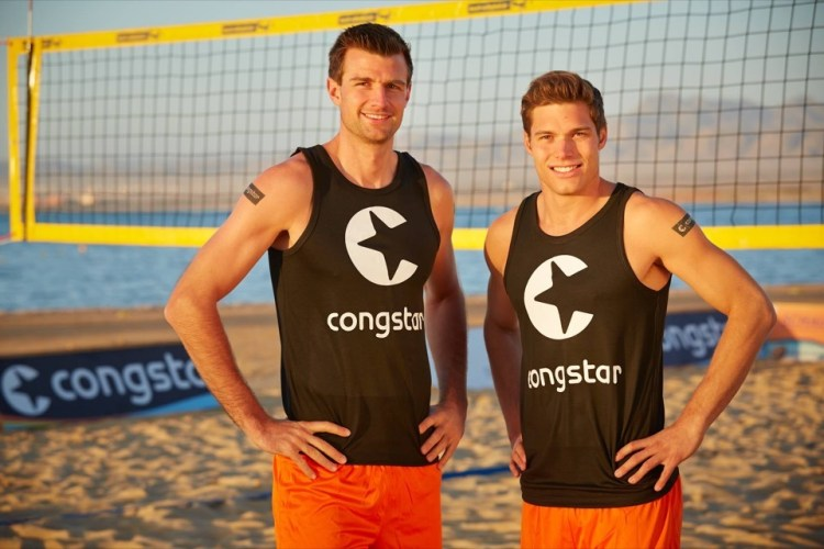 2013 war Congstar Hauptsponsor der smart beach tour - Bild: Congstar