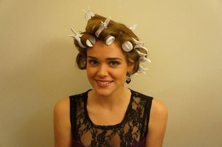 Curly-hair-with-curlers-tutorial