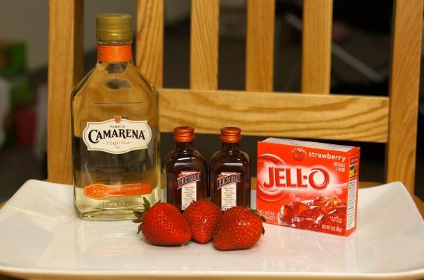 who to make strawberry jello shots