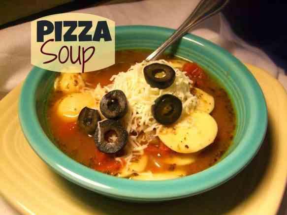 Pizza-Soup