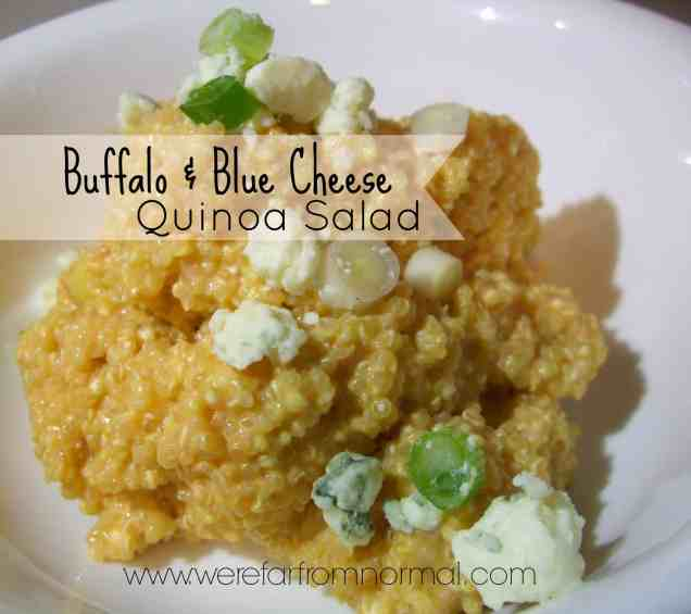 Buffalo & Blue Cheese Quinoa