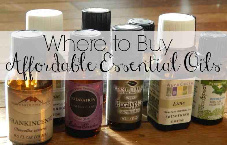 affordable essential oils