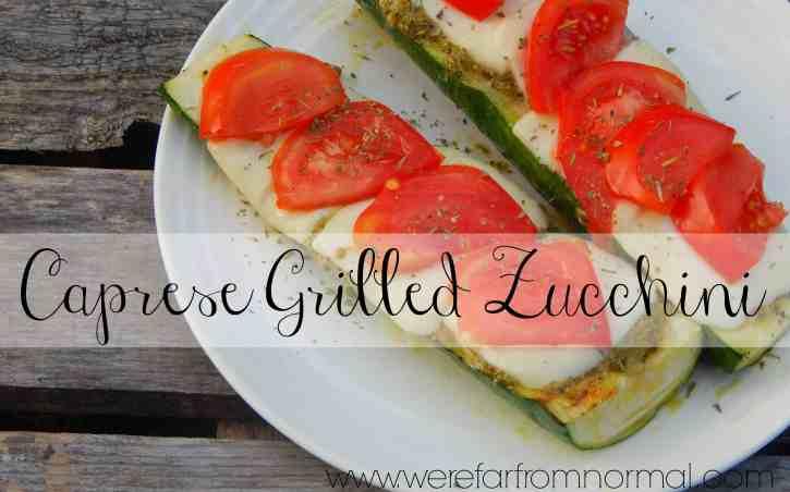 Caorese Grilled Zucchini